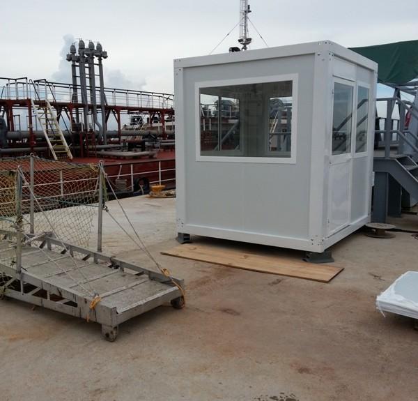cabina de vigilancia prefabricada