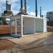 modulos prefabricados especiales para repsol en ciudad real | prefabri
