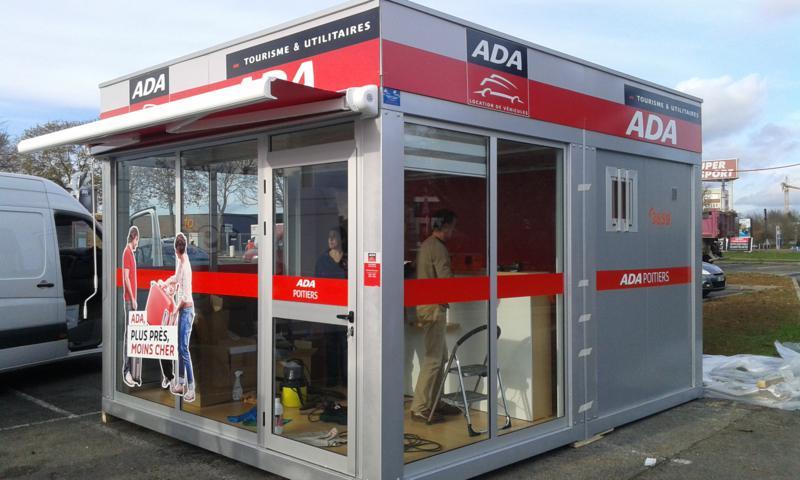 Construcciones modulares - Alquiler de coches