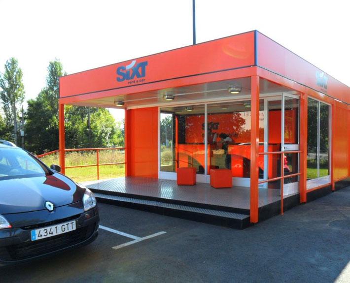 EUROPA PREFABRI- Oficina modular para alquiler de coches