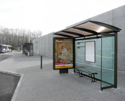 EUROPA PREFABRI- Mobiliario urbano: marquesina para autobús