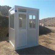 Cabines de surveillance et de contrôle pour les centres de recyclage de la Communauté de Madrid