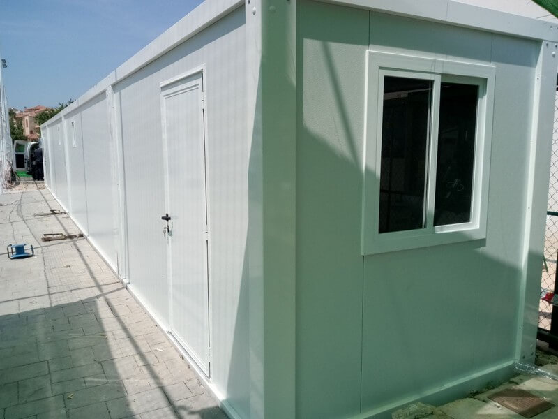 prefabricated modular dressing room