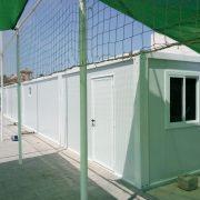 conjunto modular de vestuarios prefabricados modulares para campo de futbol en Alicante 03