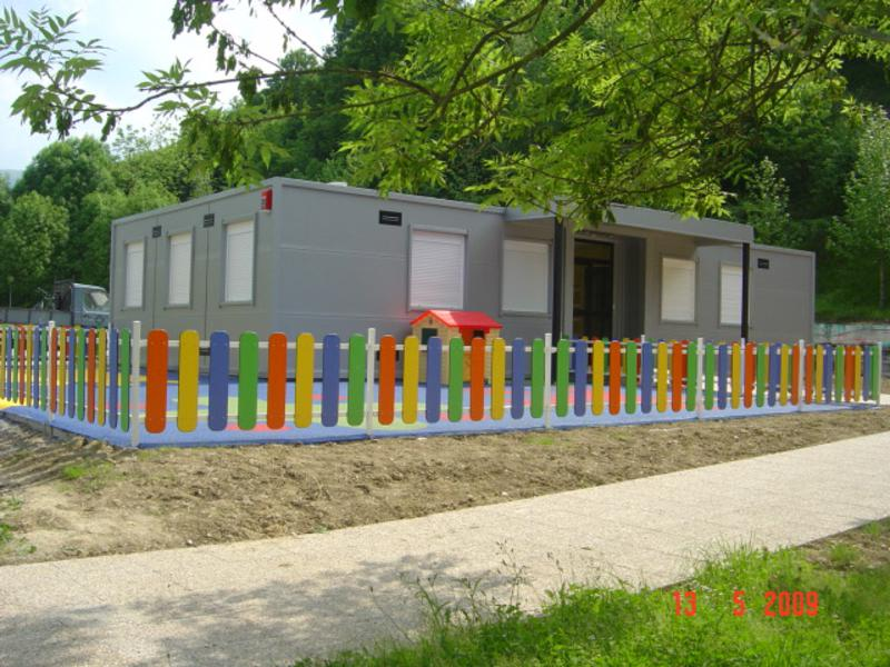 escuelas modulares