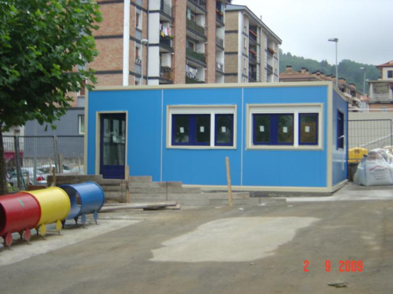 aulas modulares Europa Prefabri