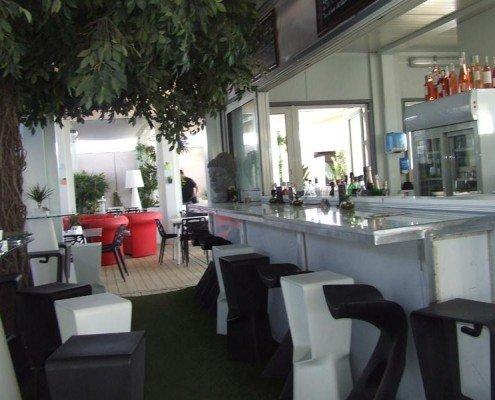 restaurante prefabricado de playa en francia