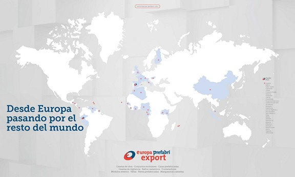 Exportación Europa Prefabri