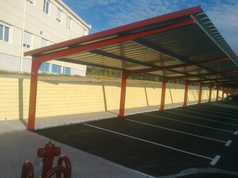 EUROPA PREFABRI - Marquesinas de parking