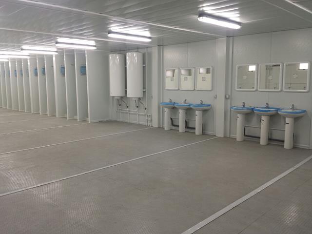 vestuarios prefabricados modulares para base naval en malasia 07 compuestos por modulos prefabricados