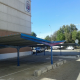Carports at Mercamadrid parking area