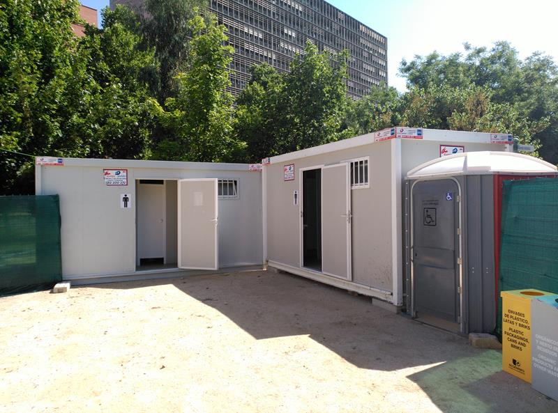 Alquiler casetas sanitarias Madrid