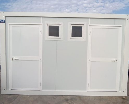 Prefabricated sanitary portacabins