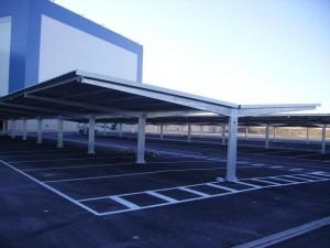 marquesinas de aparcamiento