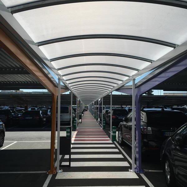 Marquesinas de parking en aeropuerto Madrid-Barajas nueva adjudicacion 14