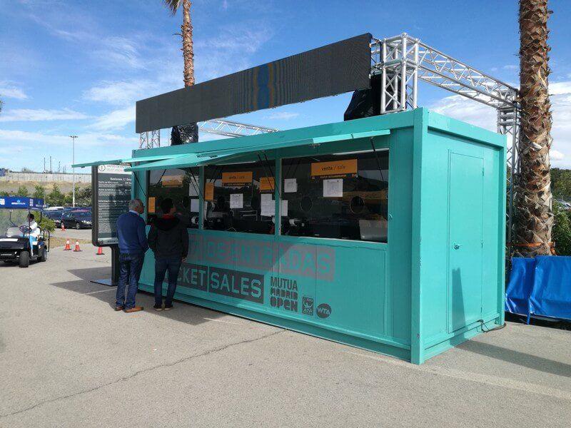 kiosques modulaires