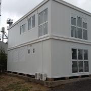 Bâtiment préfabriqué de bureaux modulaires