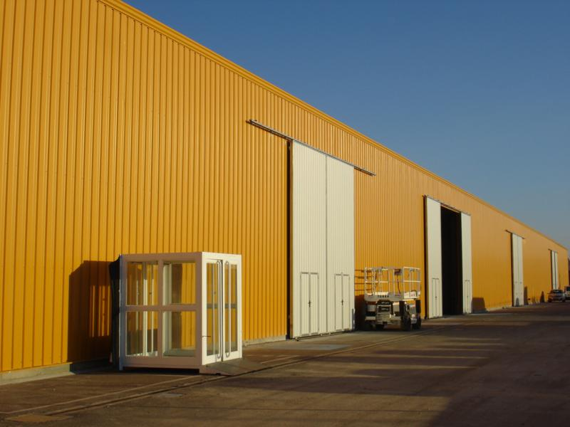 EUROPA PREFABRI - Prefabricated warehouses