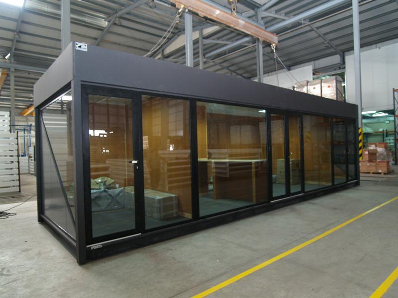 construcciones modulares salas de ventas