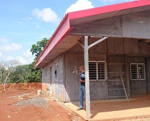 Prefab social house Panama