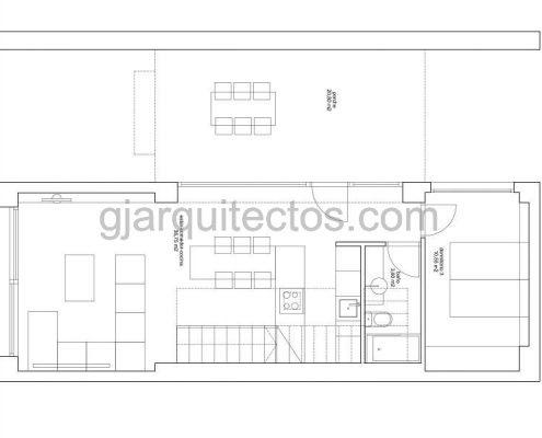 casa prefabricada modular city 001 - plano planta baja