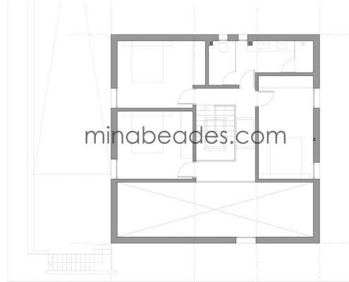 casa prefabricada modular city 005 plano primera planta