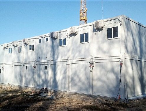 bureaux de chantier modulaire
