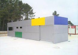 Edificios prefabricados. Europa Prefabri