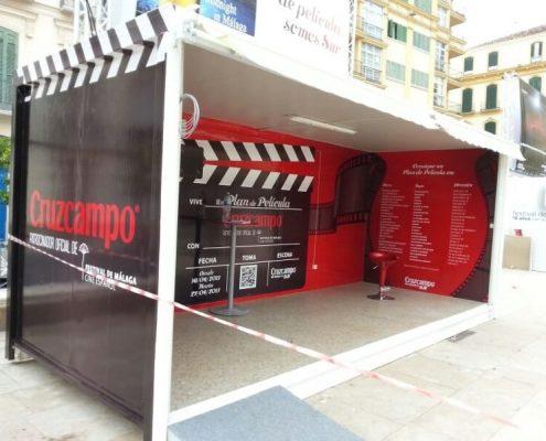 festival de cine de malaga - modulo para eventos cinefilos