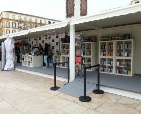 festival de cine de malaga - alquiler de modulos para espectaculos y festivales cinefilos