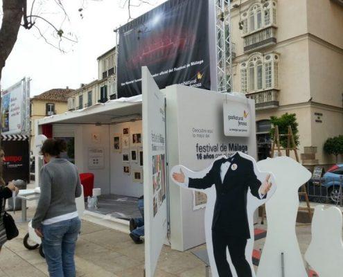 festival de cine de malaga - alquiler de modulos para espectaculos cinefilos