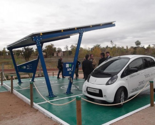 marquesina fotovoltaica