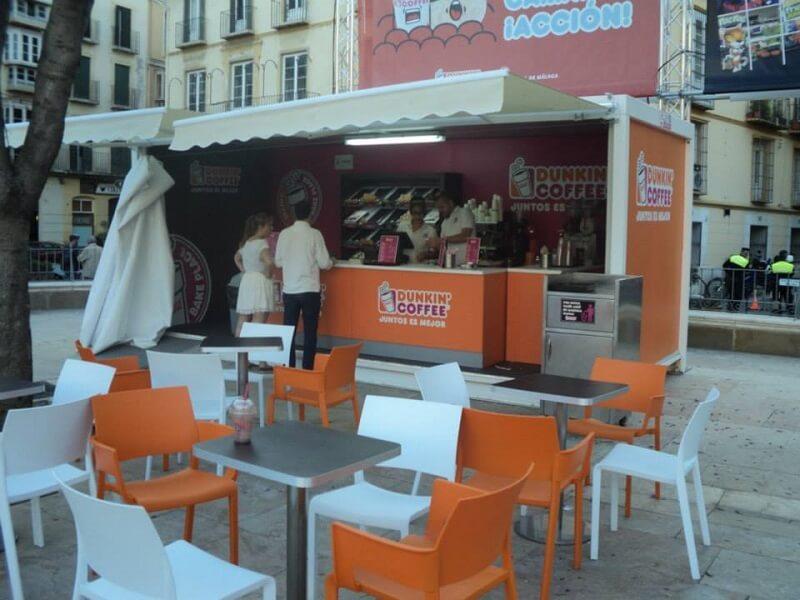 kiosco de comidas prefabricado para eventos