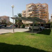 Marquesinas de parking para una comunidad de propietarios en Alicante