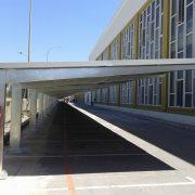 marquesinas de aparcamiento para la fabrica de san miguel en malaga 06