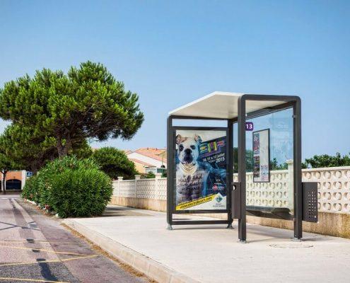 marquesinas de autobus modelo levit