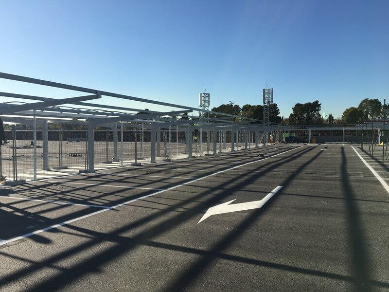 marquesinas de parking en el aeropuerto de barajas 01