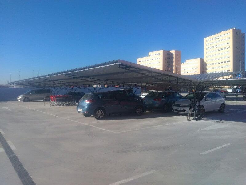 marquesinas de parking para un centro comercial en alcorcon 05