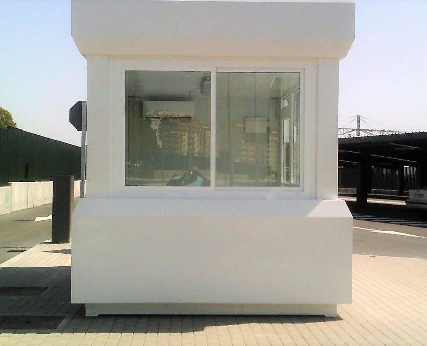 cabina de vigilancia y control