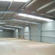 Prefabricated warehouses