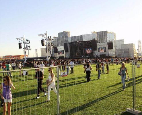 rock in rio - alquiler de vallas para eventos festivales y espectaculos