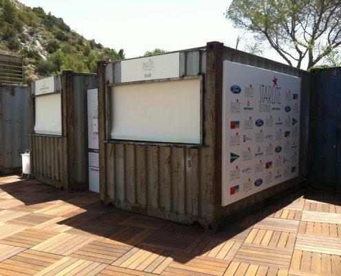 starlite - alquiler de kioscos de comida para eventos conciertos festivales espectaculos